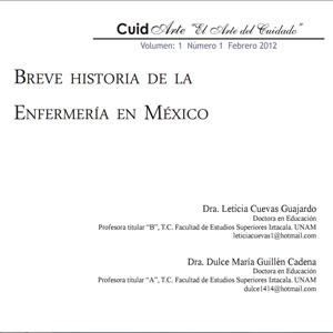 Breve Historia De La Enfermería En México