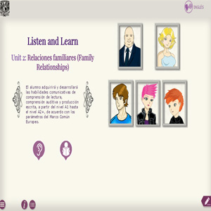 Imagen sobre listen and learn unit 2