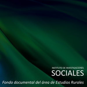 Imagen Fondo documental Estudios Rurales Instituto Inv Sociales